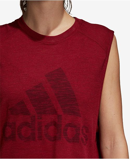 d614735a5f0cf adidas Winners Muscle Tank Top   Reviews - Tops - Women - Macy s