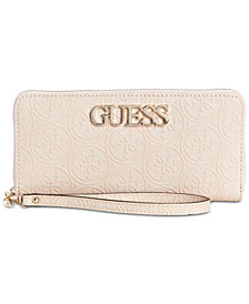 GUESS Heritage Pop Zip Around Wallet