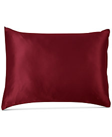 Silken Slumber Solid Silk Standard Pillowcase