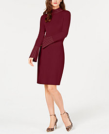 I.N.C. Studded Sweater Dress, Created for Macy's