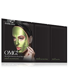 OMG! Platinum Green Facial Mask