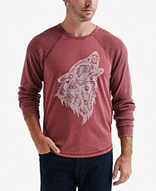 Lucky Brand Men's Wolf Dreams Graphic T-Shirt