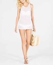 Roxy Juniors' Crocheted Cover-Up