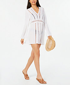 Raviya Crochet Tunic Cover-Up