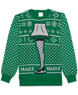 Hybrid A Christmas Story Fragile Lamp Mens Sweater Sweaters Men