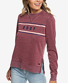 Roxy True Grace Side-Split Front-Graphic Top
