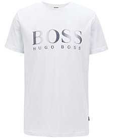 BOSS Men's Relaxed-Fit Logo Graphic Cotton T-Shirt