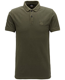 BOSS Men's Slim-Fit Piqué Cotton Polo
