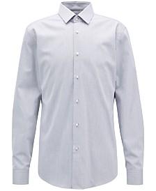 BOSS Men's Slim-Fit Cotton Twill Shirt