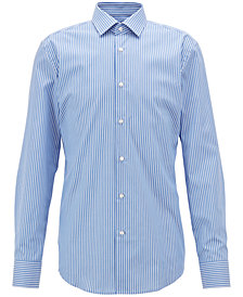 BOSS Men's Slim-Fit Stretch Cotton Shirt