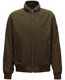 BOSS Men's Water-Repellent Blouson Jacket