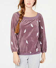 Material Girl Active Juniors' Off-The-Shoulder Sweatshirt, Created for Macy's
