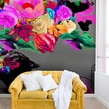 Biljana Kroll Floral Storm 8'x8' Wall Mural