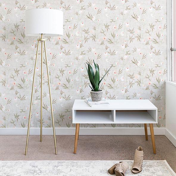 Deny Designs Holli Zollinger French Anemone Light 2'x4' Wallpaper