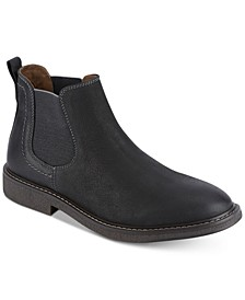 Men's Stanwell Leather Slip-On Chelsea Boots