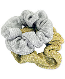 GUESS 2-Pc. Set Glitzy Hair Scrunchies