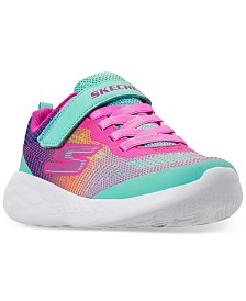 Skechers Little Girls' Skechers GOrun 600 Running Sneakers from Finish Line