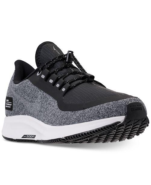 978054fb47e3cc ... Nike Women s Air Zoom Pegasus 35 Shield Running Sneakers from Finish  Line ...