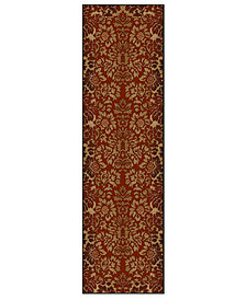 "KM Home Pesaro Royale 2'2"" x 7'7"" Runner Area Rug"