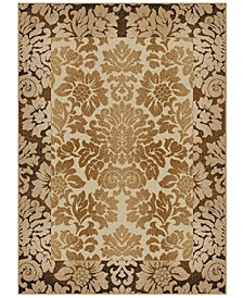 "CLOSEOUT!! KM Home Pesaro Royale 5'3"" Round Area Rug"