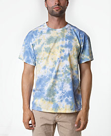 Original Paperbacks Men's South Sea Blotch Tie Dye T-Shirt