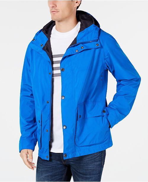 14fb7a6fa8 Barbour Men's Gunwale Hooded Waterproof Jacket & Reviews - Coats ...
