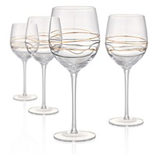 Reflections 17oz Goblets, Set of 4
