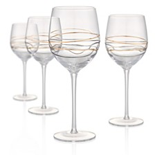 Artland Reflections 17oz Goblets, Set of 4