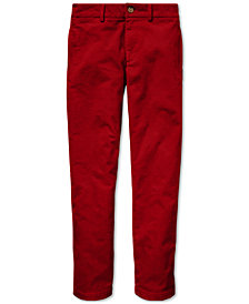 Polo Ralph Lauren Big Boys Slim Fit Stretch Corduroy Pants