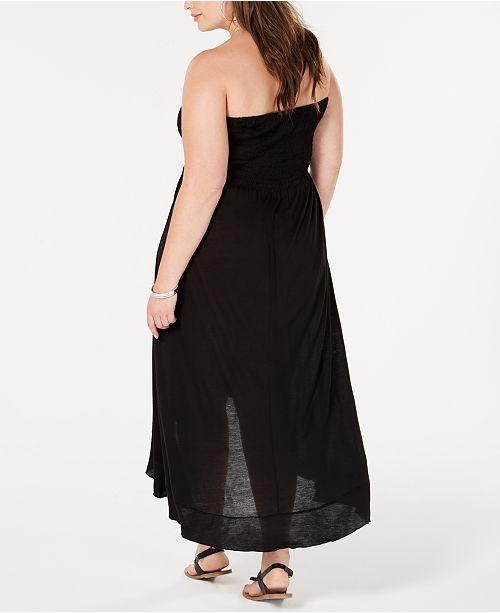 Raviya Plus Size Tube Dress Cover-Up & Reviews - Swimwear - Plus ...