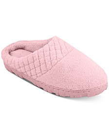 Women's Micro-Chenille Clog Slippers