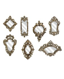 Imax Loletta Victorian Inspired Mirrors - Set of 7
