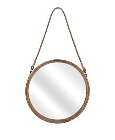 Imax Senga Large Wood Mirror