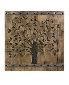 Imax Tree of Life Wood Wall Panel
