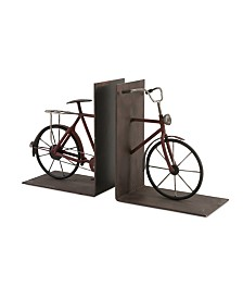 Imax Renee Bicycle Bookends - Set of 2