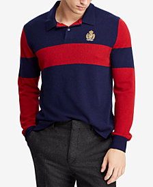 Polo Ralph Lauren Men's Cashmere Polo Sweater
