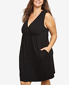 Plus Size Nursing Nightgown