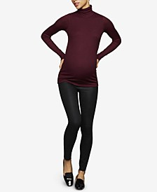 Maternity Coated Skinny Jeans
