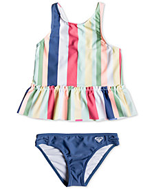 Roxy Little Girls Tankini Swimsuit