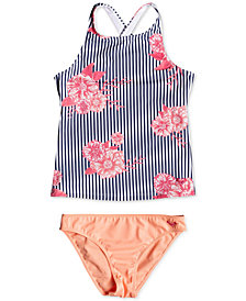 Roxy Big Girls 2-Pc. Tankini Swimsuit