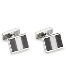 Ryan Seacrest Distinction™ Men's Cat's Eye Cuff Links, Created for Macy's