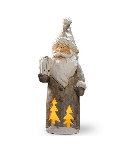 "National Tree Company National Tree 17"" Lighted Santa Décor Piece"