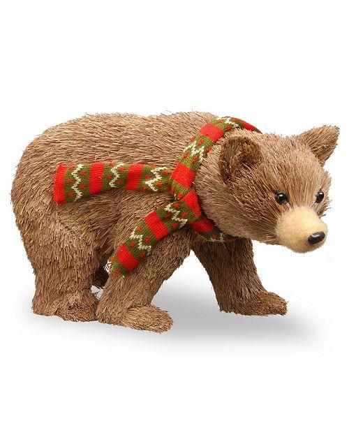 """National Tree Company National Tree 9"""" Bear Cub"""