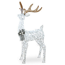 "National Tree Company 65"" Pre-lit Standing Buck"