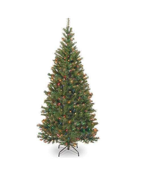 National Tree Company National Tree 6.5' Spruce Tree with 350 Multi-color Lights