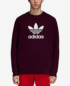 adidas Men's Originals Adicolor Treifoil French Terry Sweatshirt