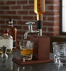 Vintage Wood Drink Dispenser