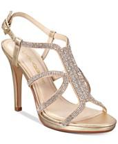 3b153d38ad Caparros Pizzaz Embellished Evening Sandals