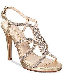 Caparros Pizzaz Embellished Evening Sandals