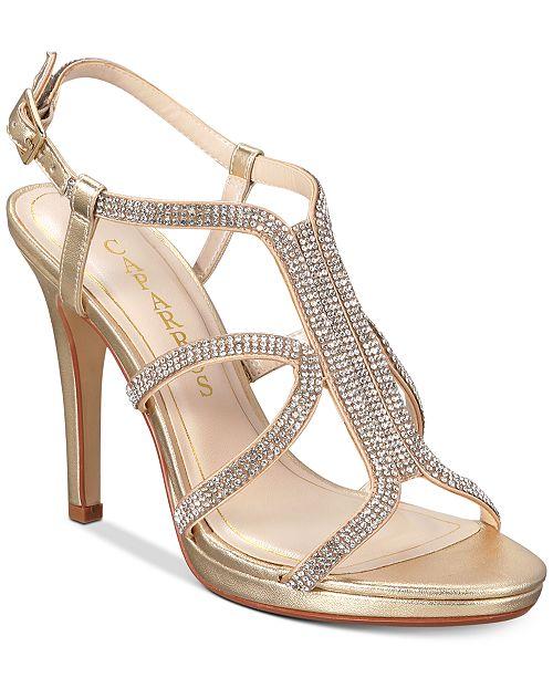 Caparros Pizzaz Embellished Evening Sandals
